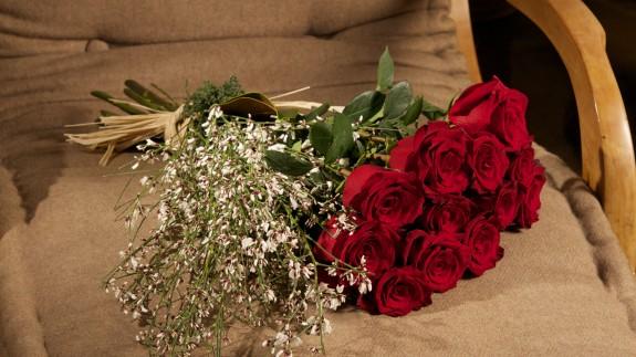 """""""12 Preuves d'Amour"""" : le bouquet de roses rouges de Saint-Valentin par Christian Morel, Fleuriste à Paris"""