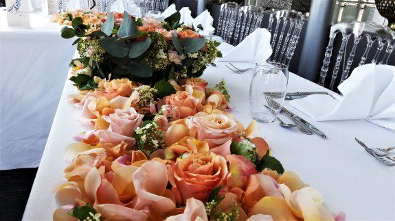 fleuriste paris composition florale décoration florale mariage institut du monde arabe