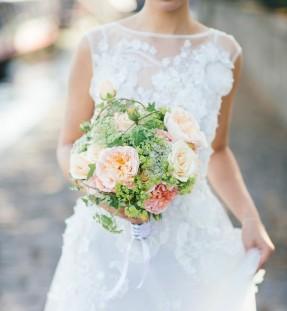 Christian Morel Fleuriste Paris - Mariage - Bouquet de Mariée style anglais