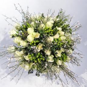 """Création florale sur mesure """"Emotion"""" par Christian Morel Fleuriste à Paris"""