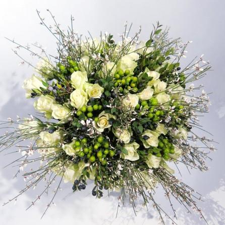 Création florale sur mesure «Emotion» par Christian Morel Fleuriste à Paris