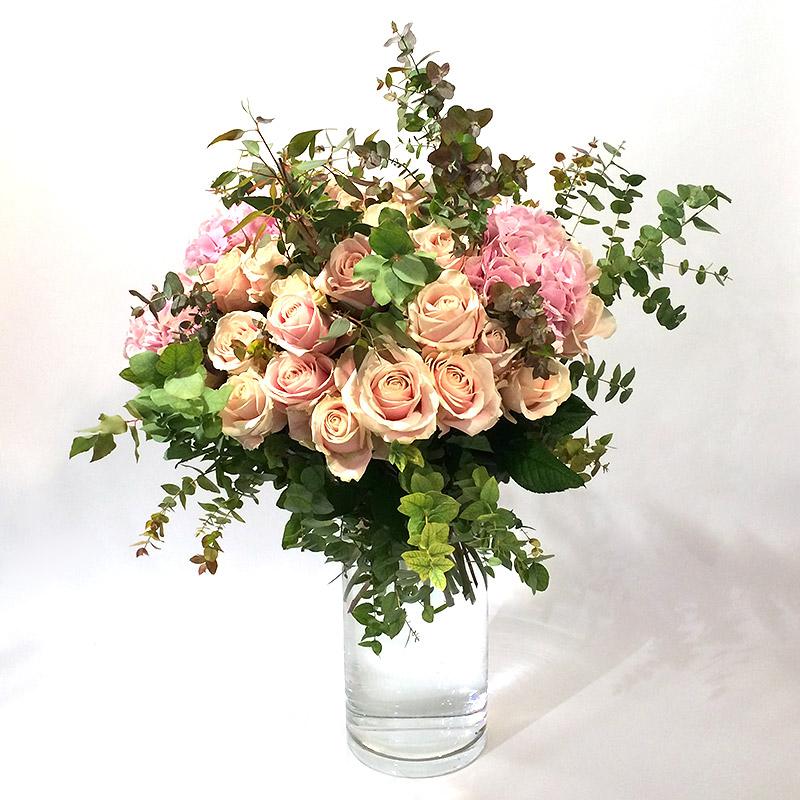 """Une création de bouquet """"Plaisir"""" par Christian Morel, fleuriste à Paris"""