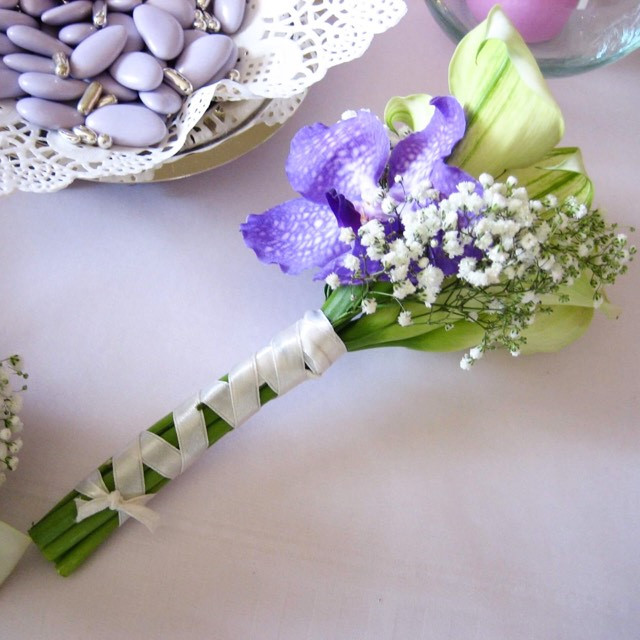 Christian Morel Fleuriste Paris - Mariage - Bouquet de Mariée calla