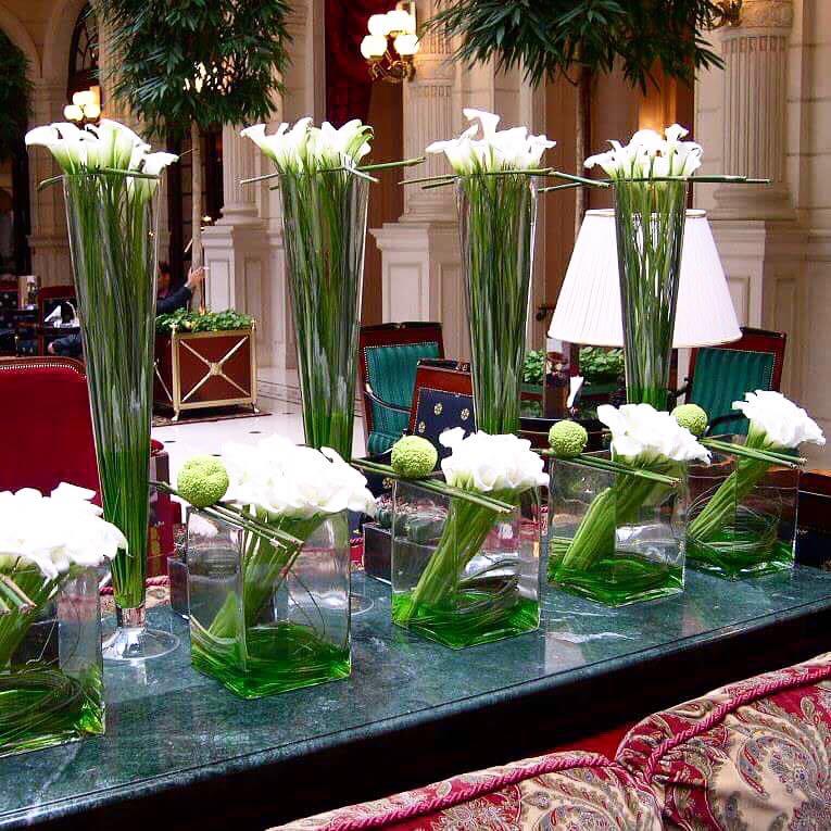 Christian Morel Fleuriste Paris Hotel Arum
