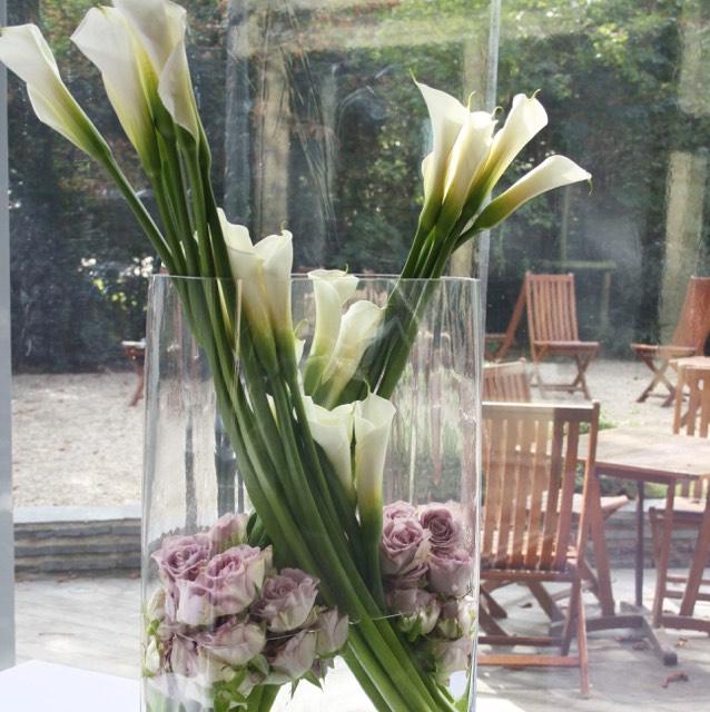 Christian Morel Fleuriste Paris - Mariage - Composition mariage lys et rose