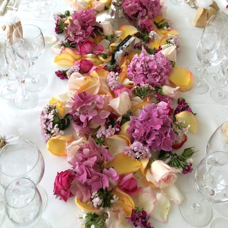 Christian Morel Fleuriste Paris - Mariage - Centre de table mariage