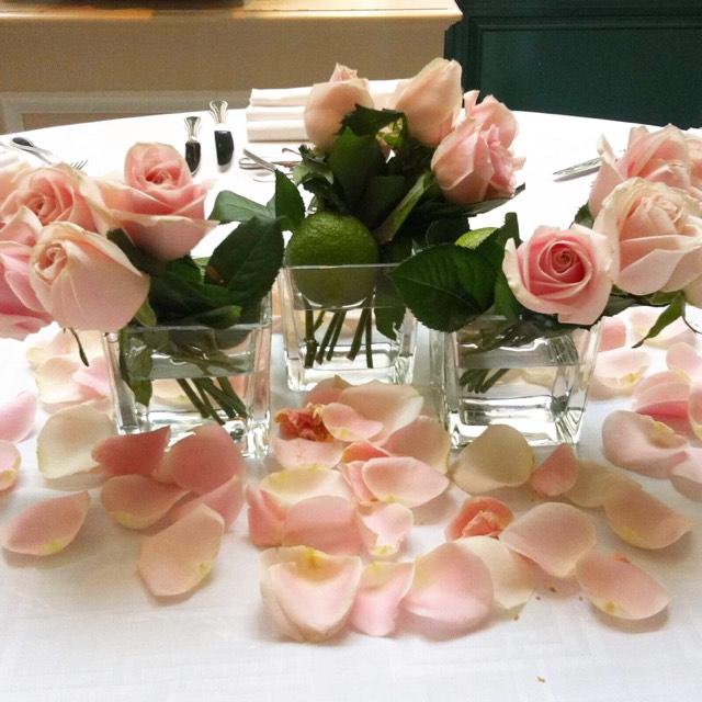 Christian Morel Fleuriste Paris - Evenement centre de table roses