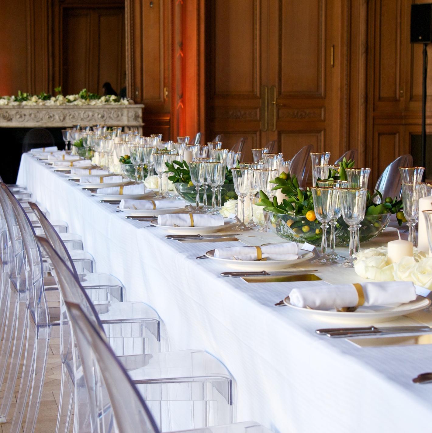 Christian Morel Fleuriste Paris - Mariage - Table de mariage