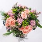 """Création florale sur mesure """"Bonheur"""" par Christian Morel Fleuriste à Paris"""