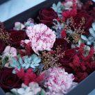 Christian Morel Fleuriste Paris- Boite à fleurs saint valentin