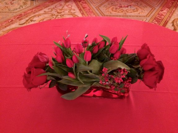 mariage chinois centres de tables fleuriste paris