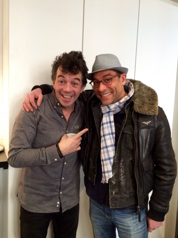 Stéphane Plaza et Christian Morel