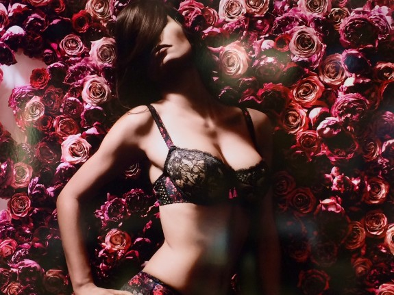 Fashion week lingerie
