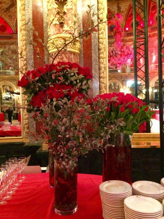 Motif de buffet mariage chinois fleuriste paris