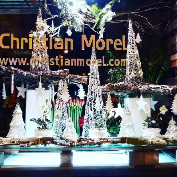 Vitrine de Noel 2015 Christian Morel