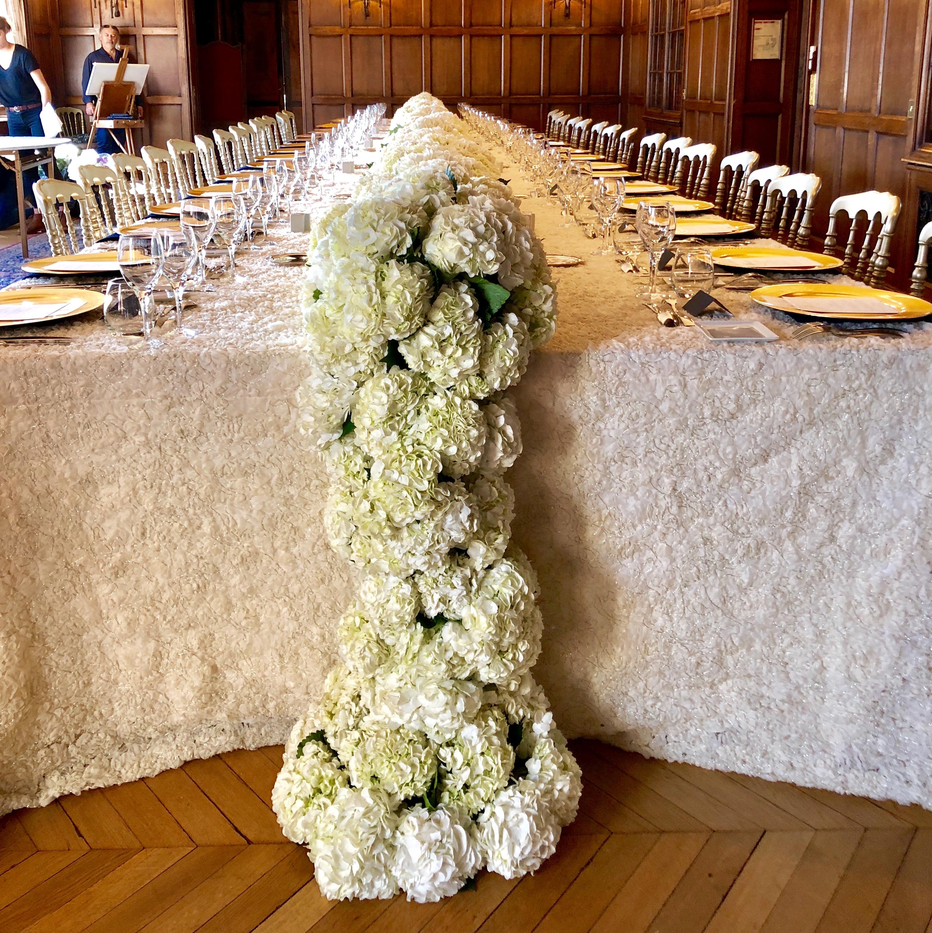 Christian Morel Fleuriste Paris - Mariage - Composition florale mariage