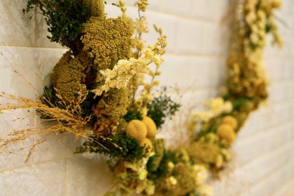 Couronne Fleurs Séchées fleuriste paris livraison delivery dry flower florist