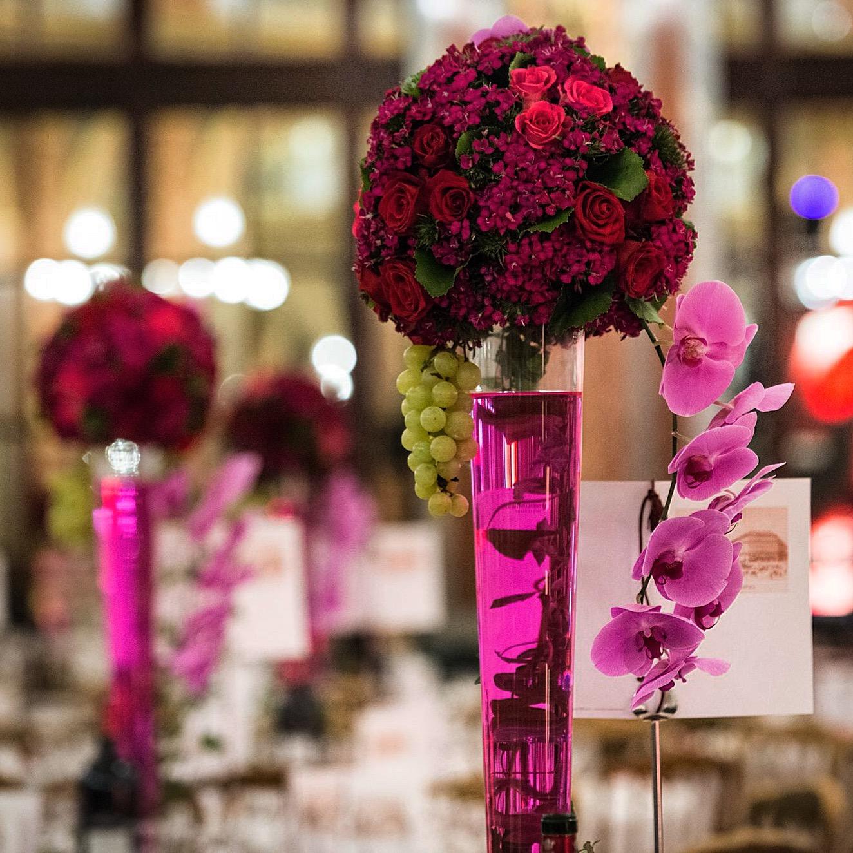 Christian Morel Fleuriste Paris - Evenement Boule Rouge