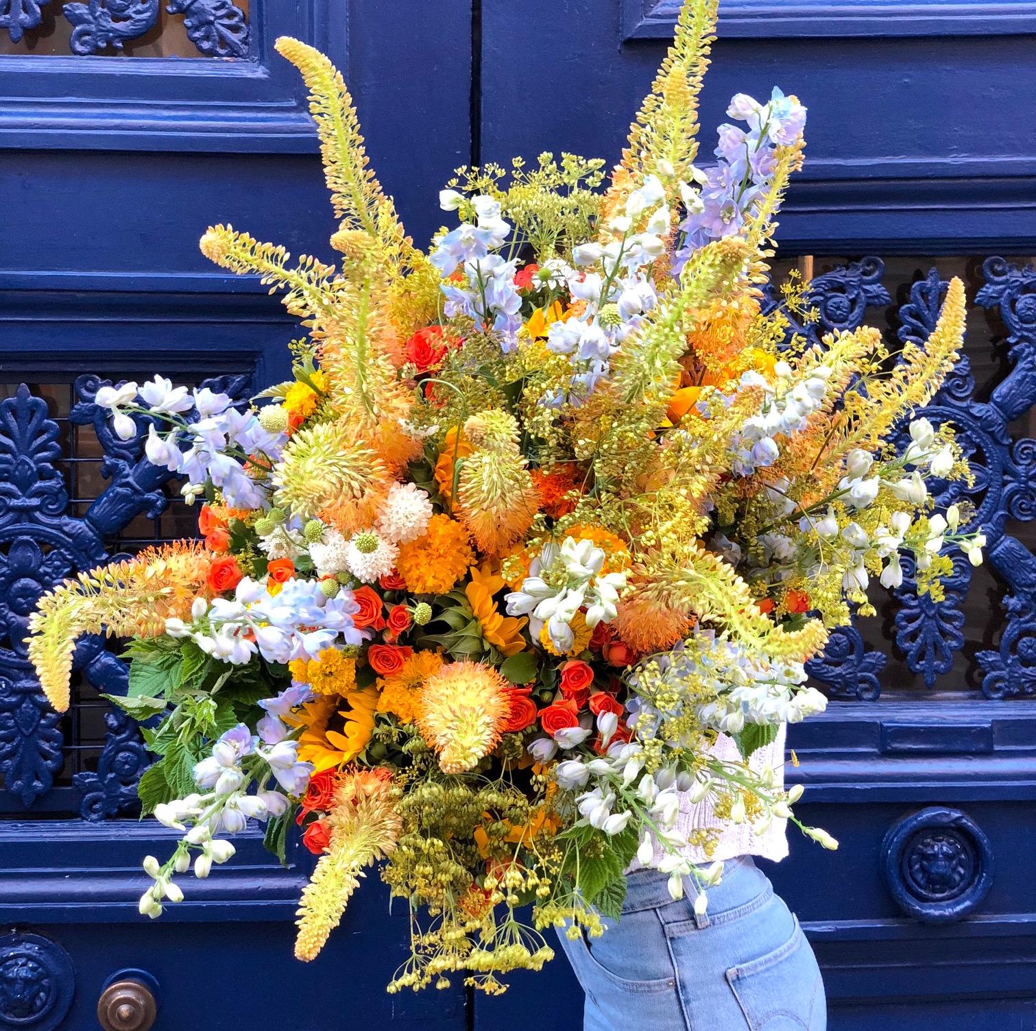 Bouquet Estivale - Christian Morel fleuriste Paris