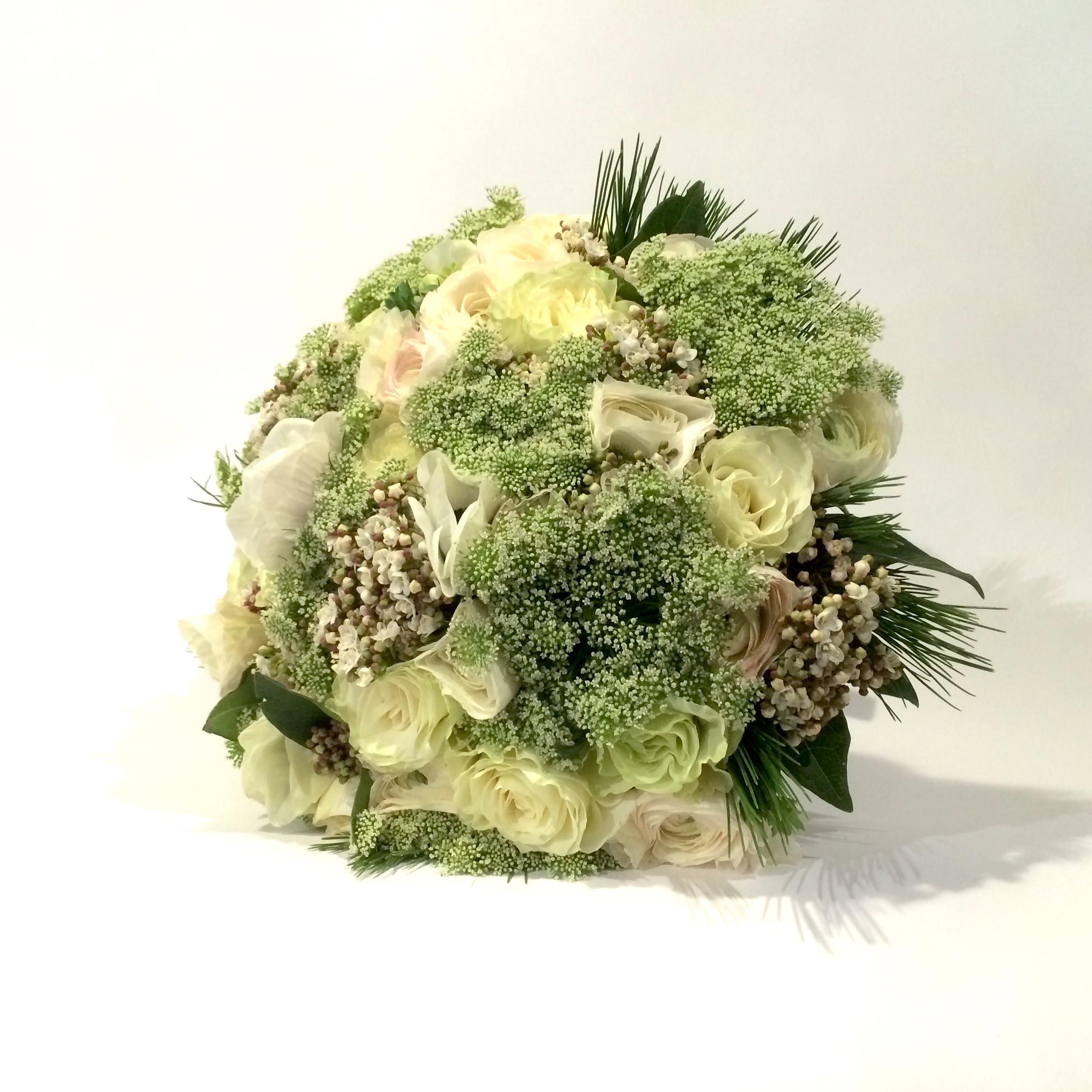 Christian Morel Fleuriste Paris - Mariage - Bouquet Blanc
