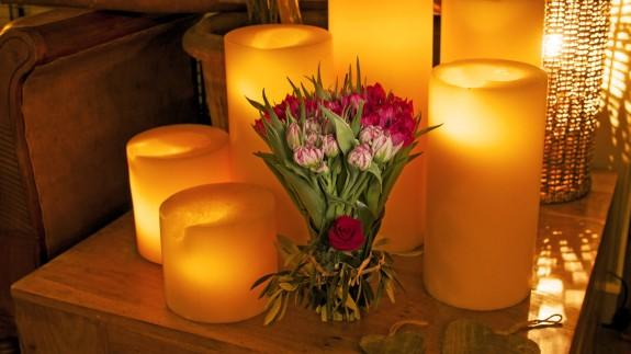 I love you, le bouquet déclaration d'amour pour la Saint-Valentin, par Christian Morel, fleuriste à Paris
