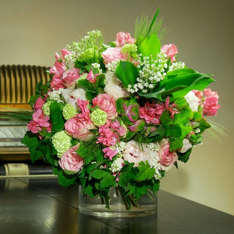 Bouquet « Bonheur acidulé » par Christian Morel, fleuriste à Paris