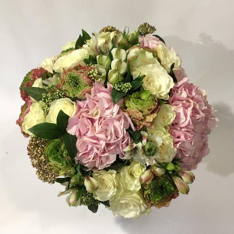 Bouquet de saison « Douceur » par Christian Morel Fleuriste à Paris