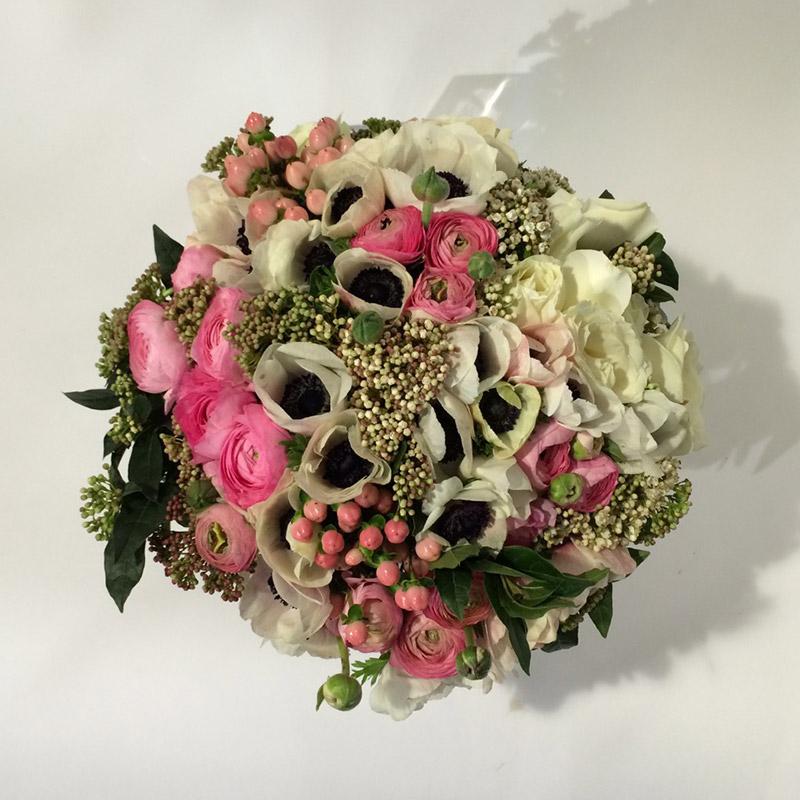 Bouquet de saison « Effervescence » par Christian Morel Fleuriste à Paris