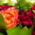 Bouquet « Un soleil de bonheur » par Christian Morel, fleuriste à Paris – zoom