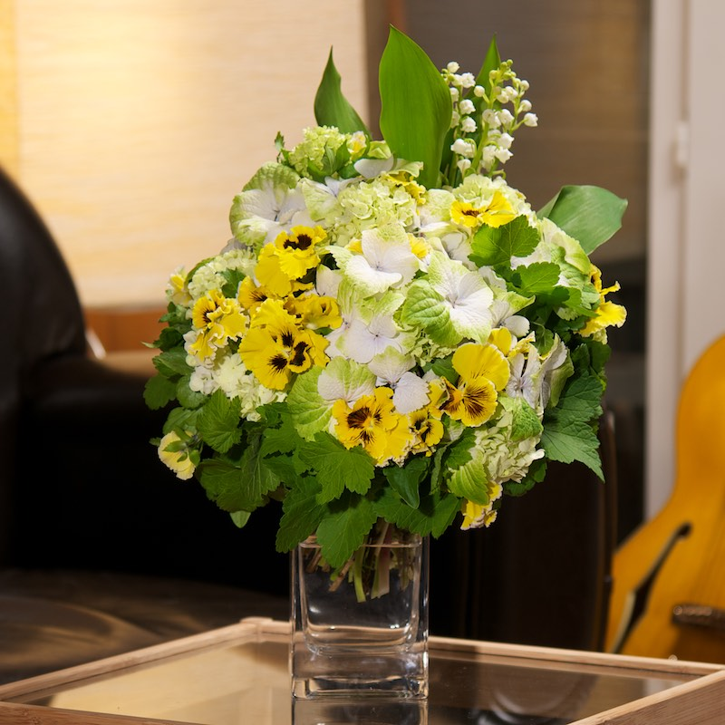 Bouquet 1er Mai par Christian Morel, fleuriste à Paris