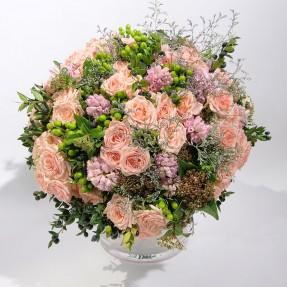 """Bouquet Création florale """"Irresistible"""" par Christian Morel - Fleuriste Paris ©"""