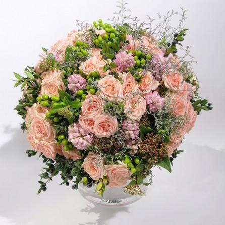 Bouquet Création florale «Irresistible» par Christian Morel – Fleuriste Paris ©