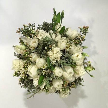 Création florales sur mesure « Simplicité » par Christian Morel Fleuriste à Paris