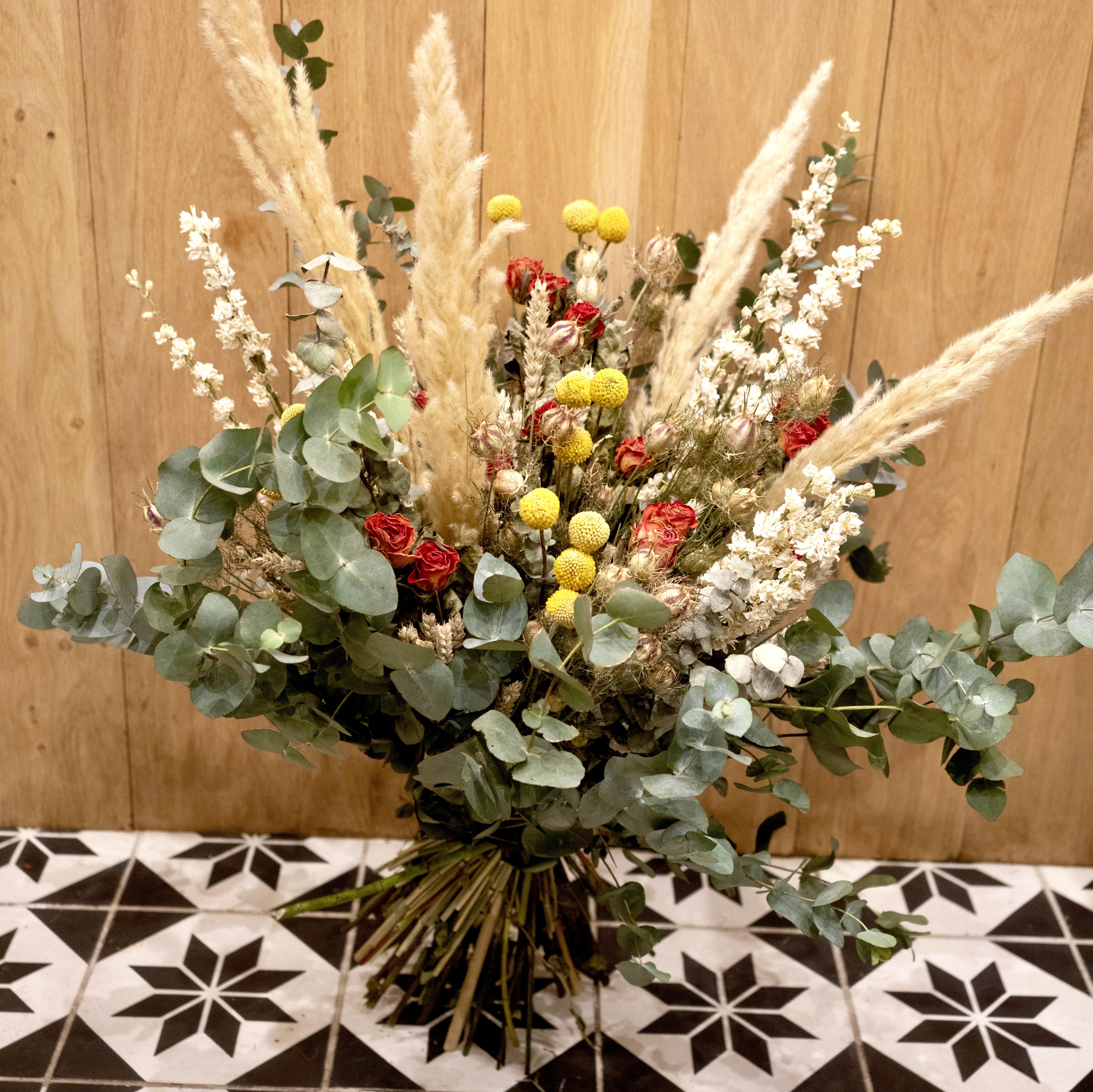 Fleurs sechées - Christian Morel Fleuriste Paris