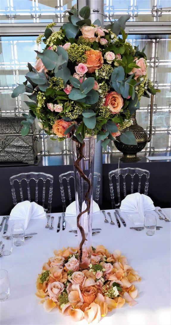 fleuriste paris mariage composition florale décoration florale fleurs et décoration